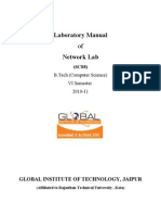 Lab Manual(Network Lab)