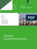 Leidraad Zonnestroomprojecten