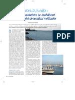 Vie Au Soleil - 121 - Naturistes Contre Port Methanier