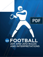 2011 Football Rules