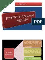 Chapter 5 Portfolio Assessment...01