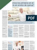 Negocio de Exportación de Quinua del Perú para el mundo.