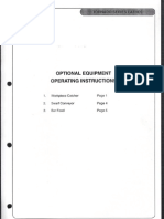 Optional Equipment Operating Instructions