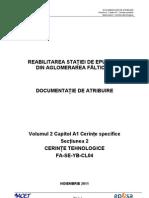 Vol 2 Cap A1 Sect. 2 Cerinte Tehnologice