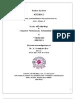 Android Report Vishwesh