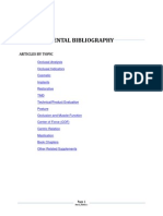T Scan Bibliography