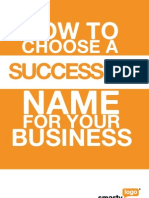 How to Choose a Successful Name