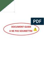 Document Guide a Ne Pas Soumettre