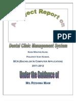 Dental Mgt Sys Doc