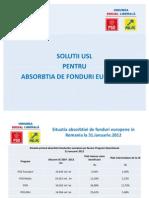 Solutii Usl Pentru Absorbtia de Fonduri Europene