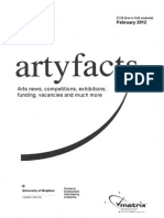 Artyfacts February 2012