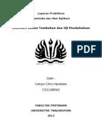 Laporan Praktikum - Ekstraksi & Uji Pendahuluan