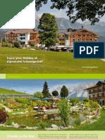 Schwaigerhof Summer Brochure 2012