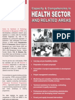 Health Sector Capacity of STEM