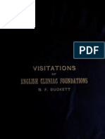 209. Visitations of Cluniac Foundations