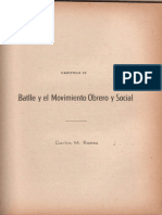 Batlle y El Movimiento Obrero Carlos M. Rama