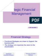 Strategic Financial Management-30.07.10