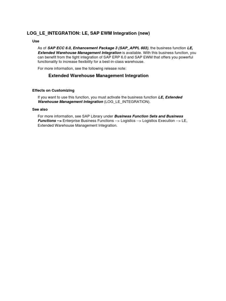 Log Le Integration   Invoice   Logistics