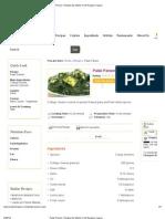 Palak Paneer- Recipes by Master Chef Sanjeev Kapoor