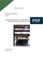 Energy Balance Project Document FINAL