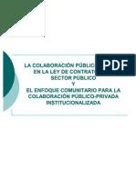 La Colaboracion-publico-privada en La Ley de Contratos