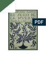 El sello de la muerte. Ramiro Ledesma