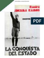 La Conquista del Estado. Textos de Ramiro Ledesma Ramos
