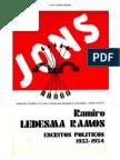 JONS. Ramiro Ledesma Ramos