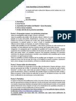 Acta nº31 de la Asamblea Popular de La Encina (sábado 04 de Febrero de 2012)