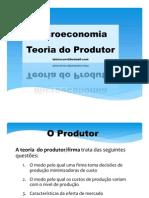 TEoria Do Produtor