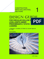 [CIDECT DG1] -- Design Guide for Circular Hollow Section (CHS) Joints Under Predominantly Static Loading