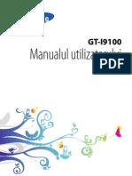 Manual Utilizare Samsung I9100 Galaxy S2