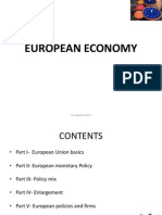 Part I- European Economy Basics