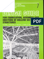 [CIDECT DG7] -- Design Guide for Fabrication Assembly and Erection of Hollow Section Structures