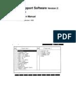 W196-E1-02A+CV Support Software V2 Basics+Operation Manual