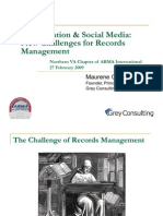 Collaboration & Social Media_New Challenges for Records Management