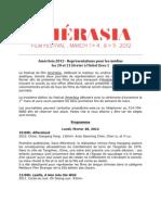 AmerAsia Diffusion Presse 20 et 21 février