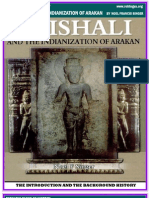 Noel f. Singer's Vaishali and the Indianization of Arakan (Introduction and Background History )