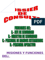 2 - Misiones y Funciones Del - Jefe de Seguridad - Director de Seguridad - Mandos Intermedios - Personal Operativo de Seguridad