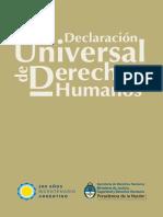 DECLARACIÓN UNIVERSAL DE DERECHOS HUMANOS por SDH