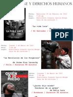 Afiche Ciclo de Cine UNA 2012