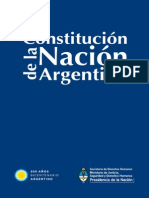 CONSTITUCIÓN DE LA NACIÓN ARGENTINA por SDH