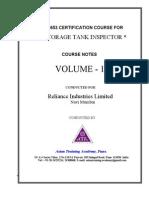 API 653 Vol 1