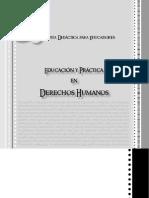 EDUCACIÓN Y PRÄCTICA EN DERECHOS HUMANOS por SDH