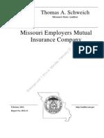 Missouri Employers Mutual Audit