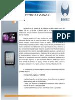 Galaxy Tab 10 vs iPad 2