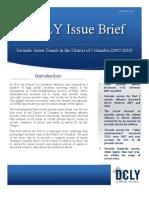 D.C. Juvenile Arrest Trends, 2007-2010