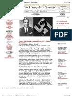 Bush - Nazi Dealings - New Hampshire Gazette