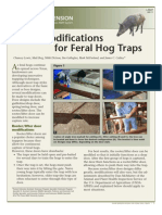Door Modifications for Feral Hog Traps