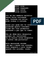 POESIA António Aleixo 'Acho uma moral ruim'